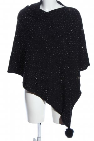Memory & Co Poncho black casual look