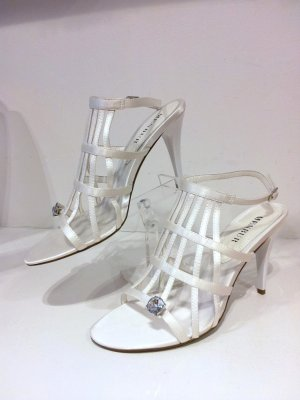 Menbur Strapped High-Heeled Sandals multicolored