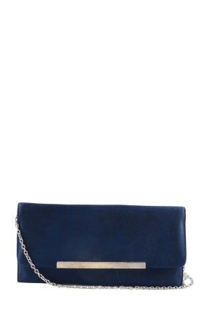 Menbur Borsa clutch blu elegante