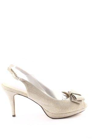Menbur High Heel Sandaletten hellgrau Elegant
