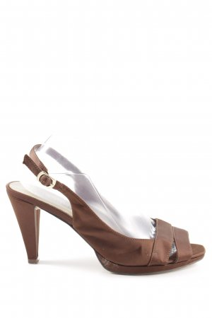 Menbur High Heel Sandaletten braun Casual-Look