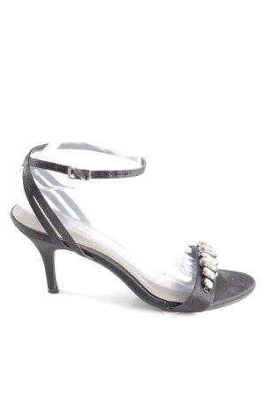 Menbur High Heel Sandaletten schwarz Casual-Look