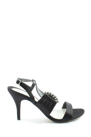 Menbur High Heels schwarz Casual-Look