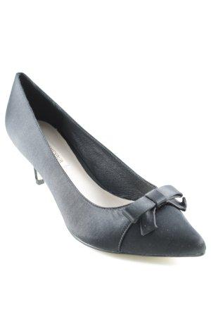 Menbur High Heels schwarz schlichter Stil