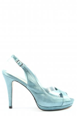 Menbur Peeptoe Pumps blau Elegant