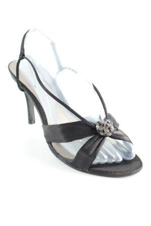 Menbur Slingback-Pumps schwarz Elegant
