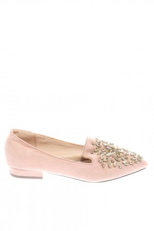 Menbur Spitz-Pumps pink Casual-Look