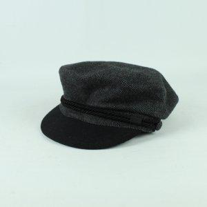 MENIL Mütze schwarz grau Fiddler Cap (20/11/130*)
