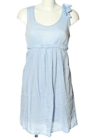 Menonove Sukienka typu babydoll niebieski W stylu casual