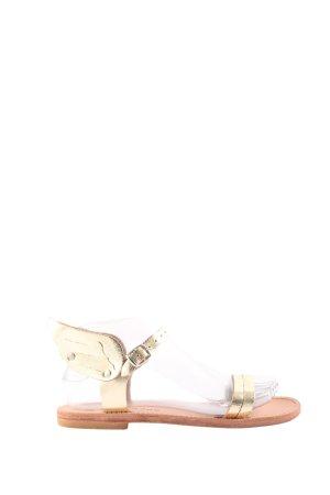 Meraki Riemchen-Sandalen goldfarben Elegant