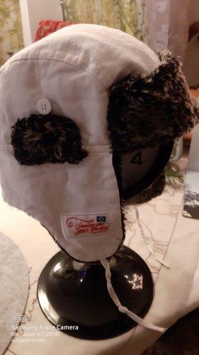 keine Sombrero de piel blanco