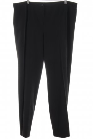 Mergler Anzughose schwarz Business-Look