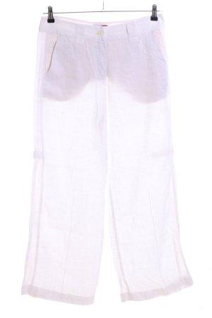 Mergler Leinenhose pink Casual-Look