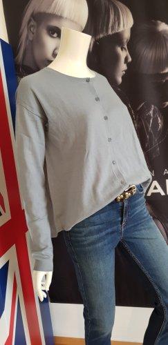 Merino wolle Schurwolle cardigan Marc O Polo eisblau wie neu Jeans skinny liebeskind Gürtel