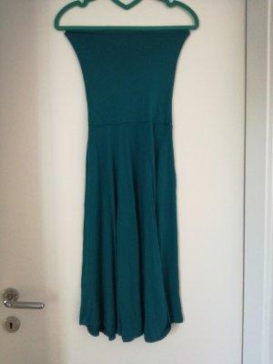 Mermaid dress, Midi Kleid, schultefrei, off shoulder, türquiouse