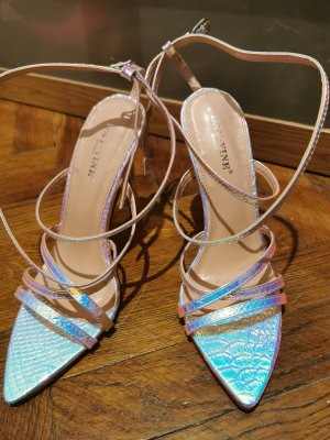 Mermaid look Sandalen mit Absatz