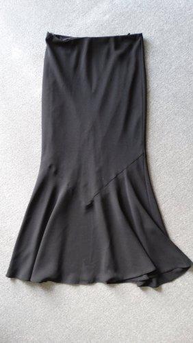 Bonita Falda larga negro Poliéster