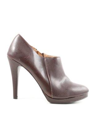 "MERONA Chaussure à talons carrés ""W-pkaasf"" brun"