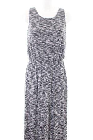 MERONA Maxi Dress light grey-black flecked casual look