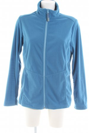 meru Fleecejacke blau Casual-Look