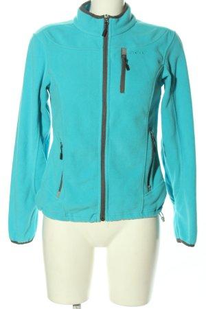 meru Fleece Jackets turquoise casual look