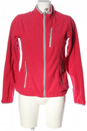 meru Fleece Jackets pink-turquoise casual look