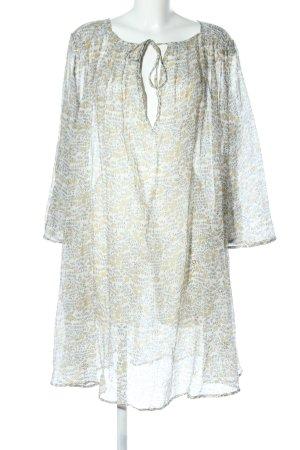 Mes Demoiselles Vestido tipo túnica estampado floral look casual