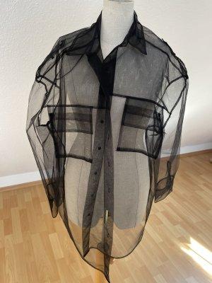 Mesh Bluse/Hemd Oversized