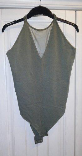 mesh cut-out body mit offenem Rücken