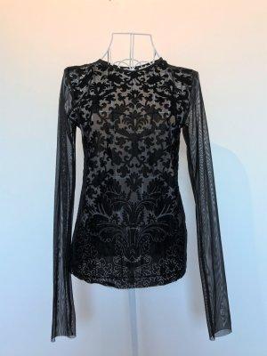 Zara Netshirt zwart