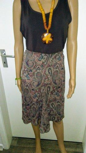 Mango Asymmetry Skirt multicolored