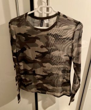 H&M Divided Top maillé multicolore