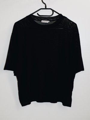 Urban Outfitters Maglia a rete nero