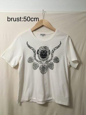 meshit affenprint shirt