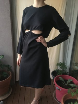 meshit cut-out dress blau