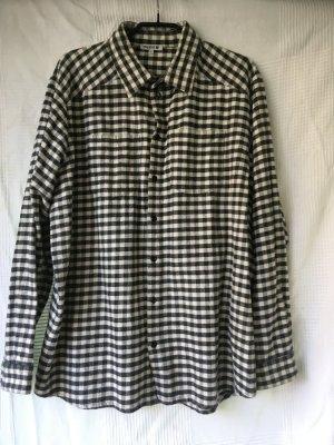 meshit oversized flanell hemd