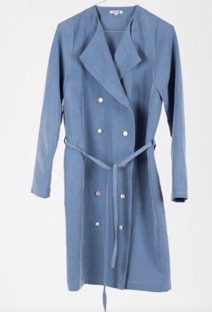meshit trenchcoat dress