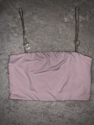 Meshki 2000s Limited Edition heart chain strap Croptop