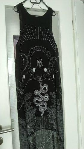 H&M Vestido mullet negro
