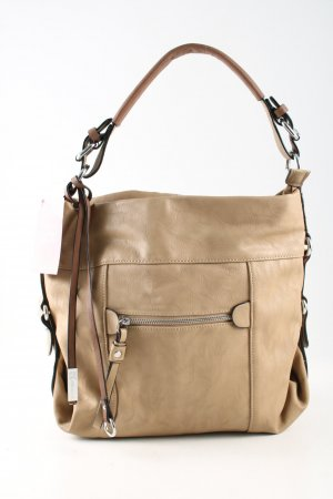 Bolsa Hobo blanco puro look casual