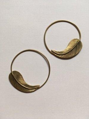Orecchino a cerchio bronzo Metallo