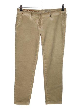 MET Pantalone chino crema stile casual