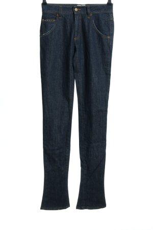 MET Jeans a vita alta blu stile casual