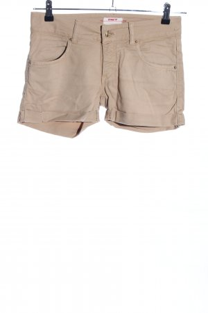 MET Hot Pants wollweiß Casual-Look