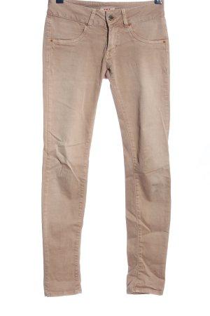 MET Pantalone a vita bassa rosa stile casual