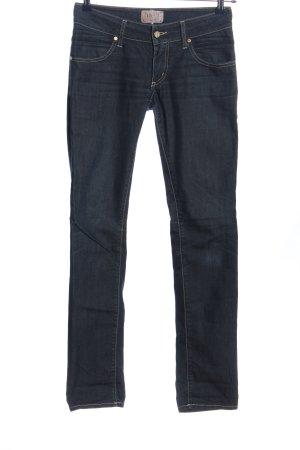 MET Jeans vita bassa blu stile casual