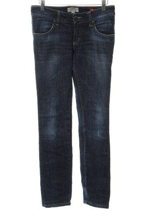 MET Jeans vita bassa blu scuro stile casual