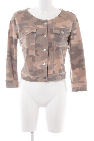 Met in Jeans Kurzjacke Camouflagemuster Casual-Look