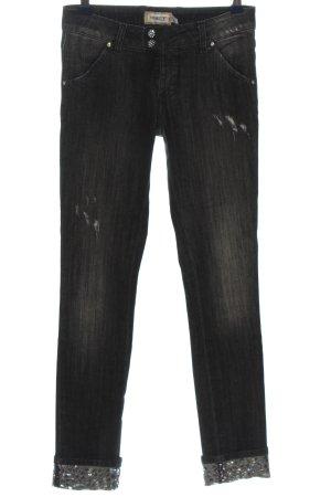 Met in Jeans Skinny Jeans schwarz Casual-Look