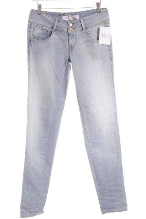 Met in Jeans Skinny Jeans blassblau Street-Fashion-Look